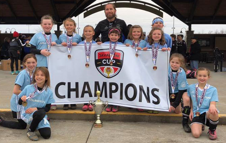 Congratulations ASA 2010 Girls Black