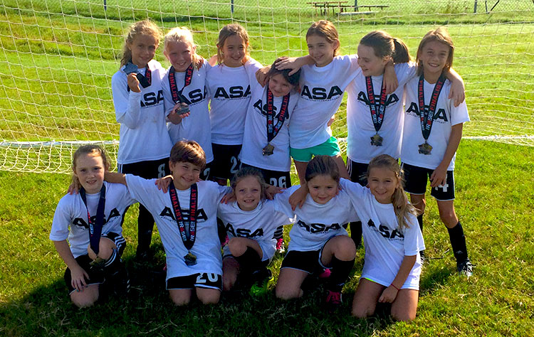 Congratulations ASA 2010 Girls!